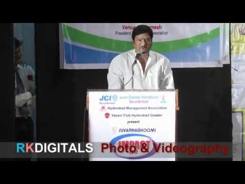 Life Story| Rajendra Prasad |TELUGU IMPACT Hyd 2012