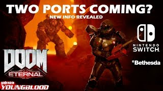 Nintendo Switch - Doom Eternal & Wolfenstein Youngblood Possibly Confirmed | Panic Button Involved?