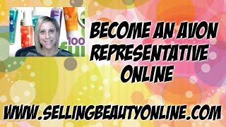 Become an Avon Representative Online