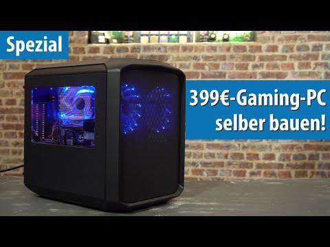 Gaming-PC für 399 Euro: So baut Ihr einen günstigen Spiele-Rechner ohne Grafikkarte