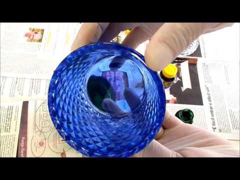 Como colorir vidros