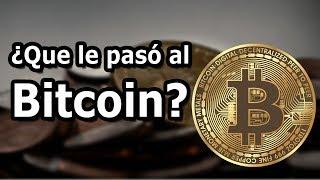 ¿Que le paso al bitcoin? Las razones de su desplome   Giocode
