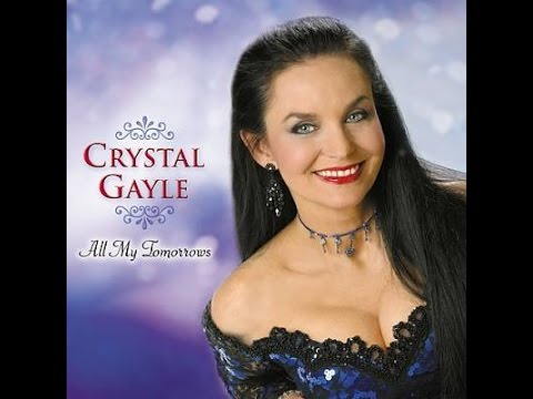 Crystal Gayle - Wrong Road Again (Lyrics on screen)