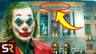 25 Small Details You Missed In Joker
