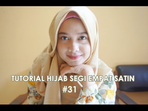 Video Tutorial Hijab Segi Empat Satin #31 - indahalzami