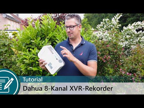 Konfiguration des 8-Kanal XVR-Recorder mit HDCVI und IP-Kamera-Support im Tutorial