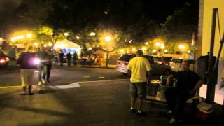 preview picture of video 'Walking tour of Old San Juan Puerto Rico at night'