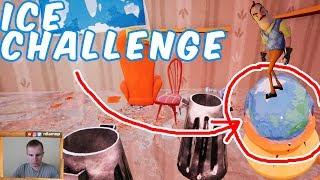 №702: ICE CHALLENGE HELLO NEIGHBOR BETA 3(ПРИВЕТ СОСЕД БЕТА 3 - ЛЕДЯНОЙ ЧЕЛЛЕНДЖ)
