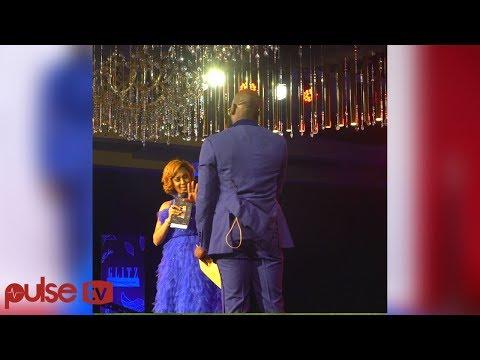 Nikki Samonas Gets Best Proposal At The Glitz Awards From Mai Atafo