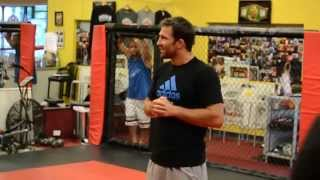 Luke Rockhold Seminar at Brooklyn MMA