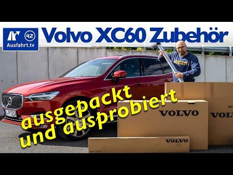 Volvo XC60 original Zubehör - ausgepackt und ausprobiert | test