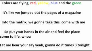 JLS 3D Lyrics
