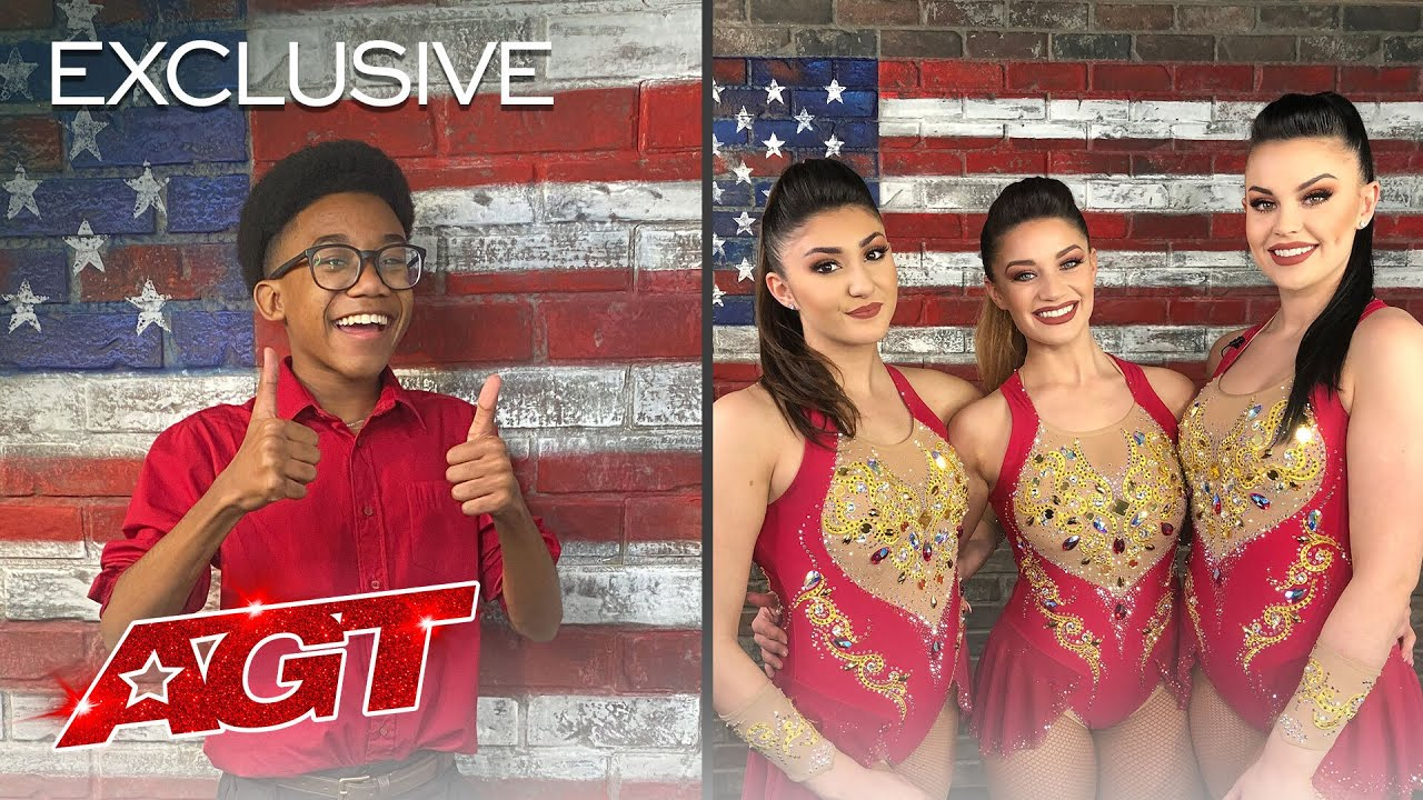 Kelvin Dukes and The Bello Sisters Open Up About Performing For America! - America's Got Talent 2020 thumbnail