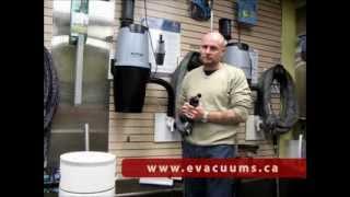 Superior Vacuums, Nilfisk Central Vacuum System