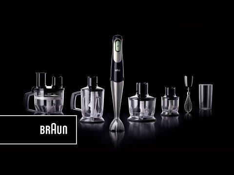 Batidoras de mano Minipimer 7 de Braun | Todas las velocidades en un solo botón.