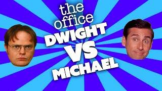 DWIGHT Vs MICHAEL: The Ultimate Showdown   The Office US   Comedy Bites