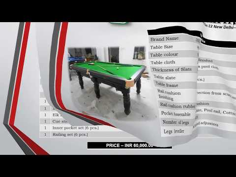 JBB Platinum Pool Table