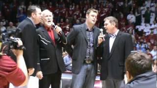 Doyle Lawson & Quicksilver Ntl Anthem Coleman Coliseum AL-KY game