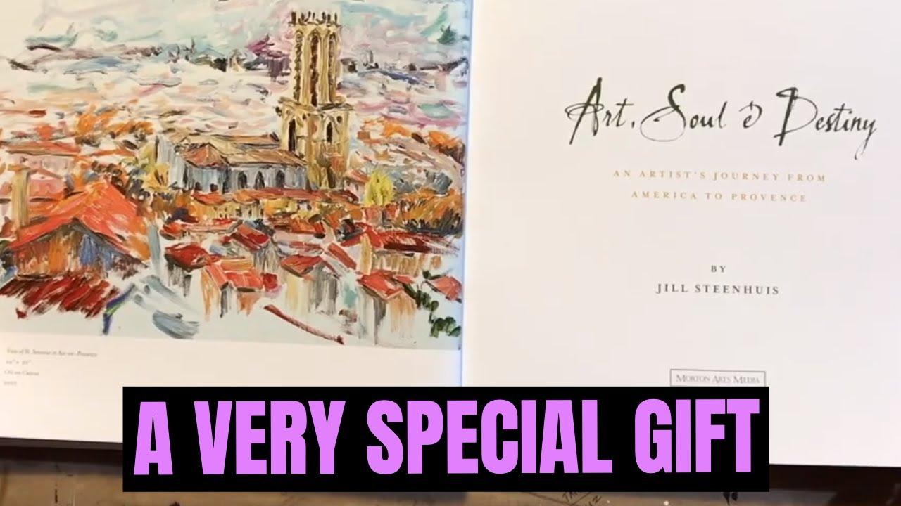 Beautiful Art Book from Jill Steenhuis: Art, Soul, and Destiny