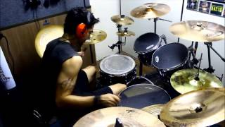 Dragonforce - My Spirit Will Go On - Drum Cover (Alessandro Kelvin)