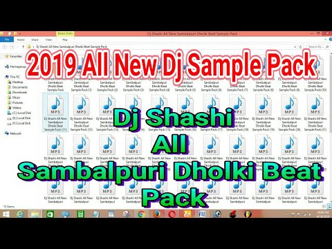 2019 Dj Shashi Nagpuri Dholki Beat Dj Sample Pack - смотреть онлайн