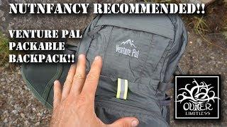 Nutnfancy Recommended!!  Venture Pal Packable Backpack!!
