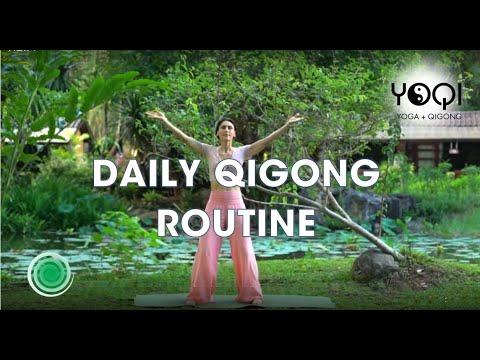 DAILY QIGONG ROUTINE - YouTube