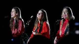 HAIM - Won't Back Down (Tom Petty cover) @ The Greek Theatre, Los Angeles - 10/19/17