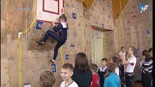 Юные новгородские скалолазы временно остались без тренировок