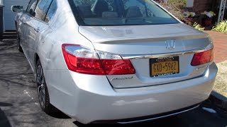 2015 Honda Accord Hybrid Startup, Engine, Tour & Review/Overview