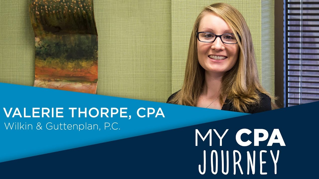 Valerie Thorpe | My CPA Journey