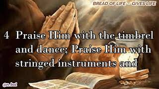 NKJV Audio Bible with Text – Psalm 150 (BREAD OF LIFE)