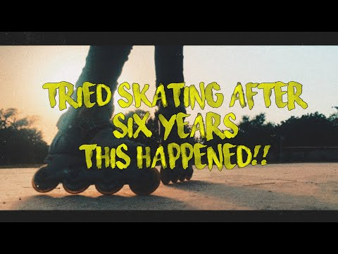I Tried Skating After 6 Years And Almost Broke My Bones | Vlog