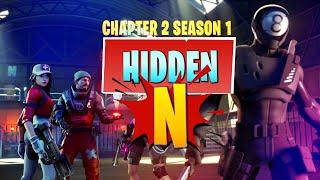 "Fortnite Chapter 2 | Hidden ""N"" Location in Loading Screen (Battle Star Replacement - Season 1)"
