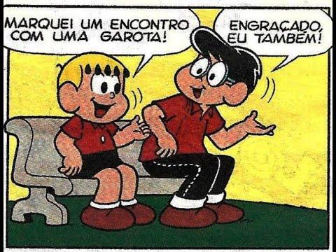 Franjinha   O encontro - gibis quadrinhos Turma da Mônica
