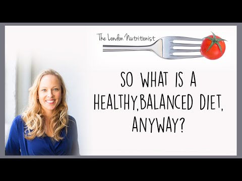 What is a healthy balanced diet anyway??<br />Jo Travers, The London Nutritionist explains what the elusive healthy balanced diet is and how you can get it.