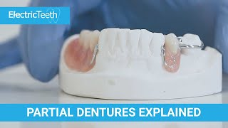Partial dentures & false teeth explained