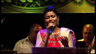 naino me badara chhaye live vaishali made