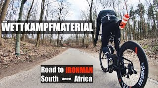 Mein Wettkampfmaterial - Road to IM South Africa No. 14