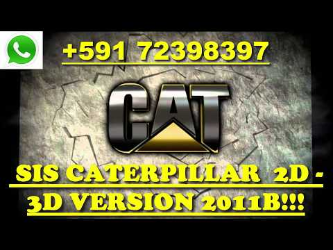 CATERPILLAR SIS 2019 + CBT [3D Parts] CAT SIS 2019 Full