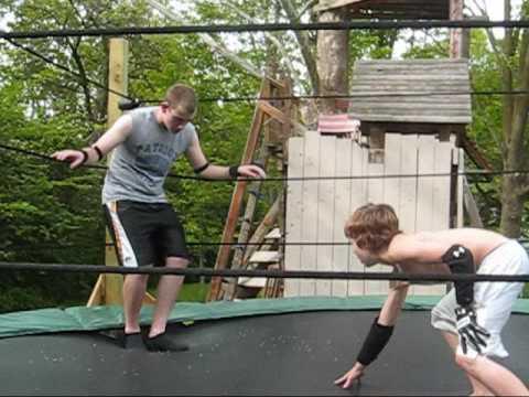 MWE Trampoline Wrestling