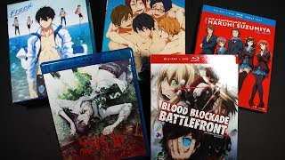 Rightstufanime.com Mini Anime Opening/Haul! Anime Haul #2