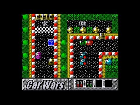 Oglądaj: Car Wars Walkthrough, ZX Spectrum