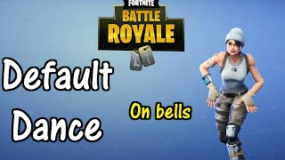 How to play the default dance on bells!