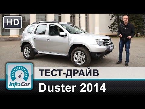 Renault  Duster Паркетник класса J - тест-драйв 1