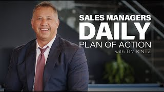 Sales Manager Daily Action Plan