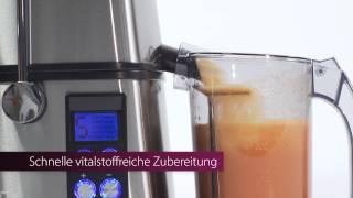 Соковыжималка Profi Cook PC-AE 1070 800 Вт Германия от компании PolyMarket - видео