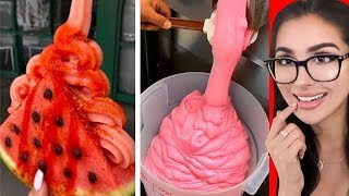 Most Oddly Satisfying FOOD
