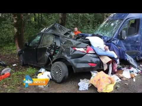 Новости Псков 01.08.2016 # ДТП под Островом