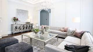 Luxurious Living Room Makeover And Design Tips - Kimmberly Capone Interior Design